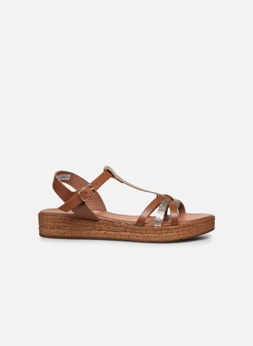 Sandales et nu-pieds Clarks Daniella Ray Marron vue derrière
