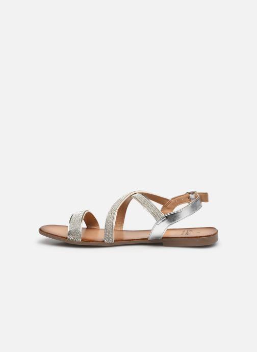 Sandali e scarpe aperte Clarks Latreece Ray Argento immagine frontale