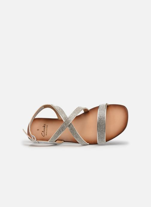 Sandali e scarpe aperte Clarks Latreece Ray Argento immagine sinistra