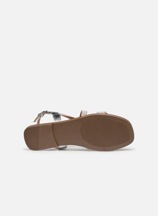 Sandali e scarpe aperte Clarks Latreece Ray Argento immagine dall'alto