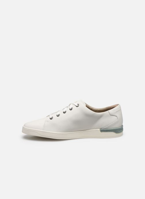Sneakers Clarks Stanway Lace Bianco immagine frontale
