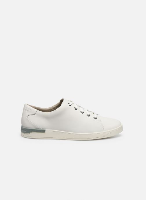 Sneakers Clarks Stanway Lace Wit achterkant