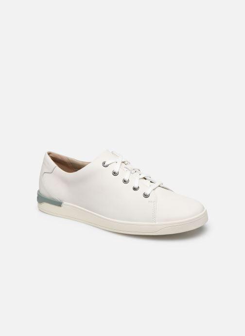 Sneakers Clarks Stanway Lace Bianco vedi dettaglio/paio