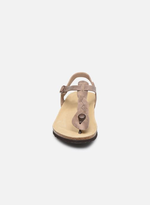 Sandalen Papillio Ashley Braided beige schuhe getragen