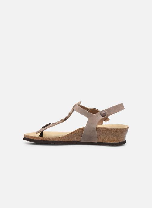Sandali e scarpe aperte Papillio Ashley Braided Beige immagine frontale