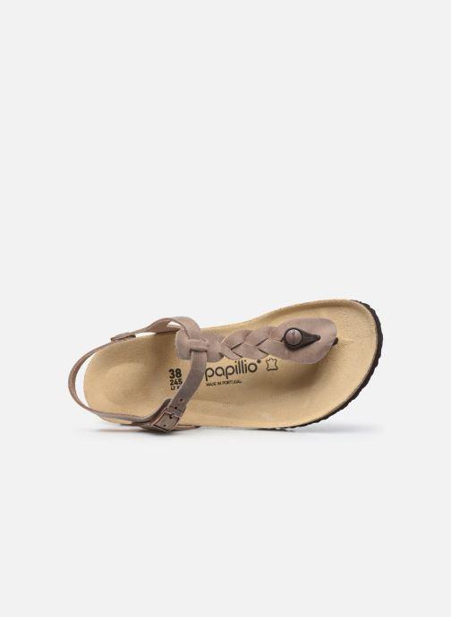 Sandali e scarpe aperte Papillio Ashley Braided Beige immagine sinistra