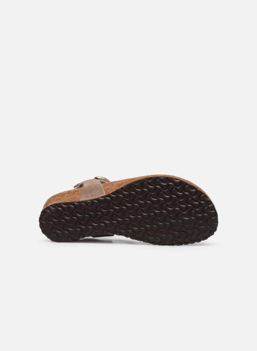 Sandali e scarpe aperte Papillio Ashley Braided Beige immagine dall'alto