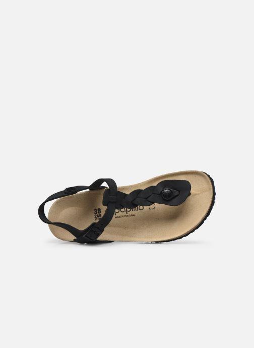 Sandali e scarpe aperte Papillio Ashley Braided Nero immagine sinistra