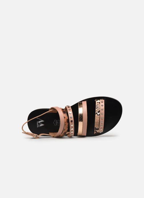 Sandali e scarpe aperte Vanessa Wu SD2082 Rosa immagine sinistra