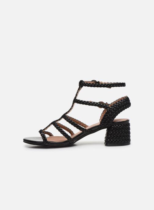 Sandali e scarpe aperte Vanessa Wu SD2081 Nero immagine frontale