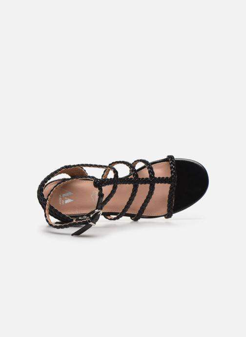 Sandali e scarpe aperte Vanessa Wu SD2081 Nero immagine sinistra