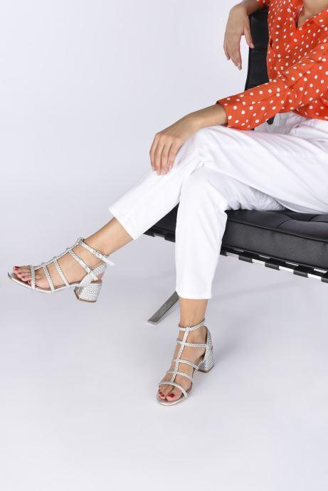 Sandali e scarpe aperte Vanessa Wu SD2081 Argento immagine dal basso
