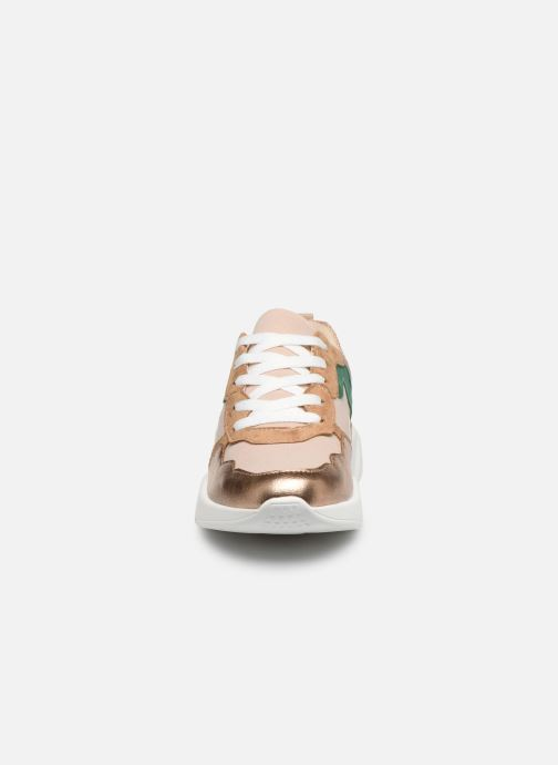 Baskets Vanessa Wu BK2074 Rose vue portées chaussures