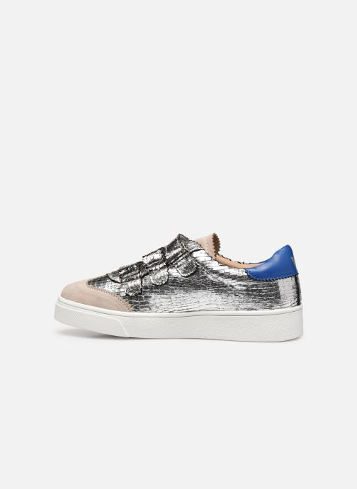 Sneakers Vanessa Wu BK2064 Argento immagine frontale