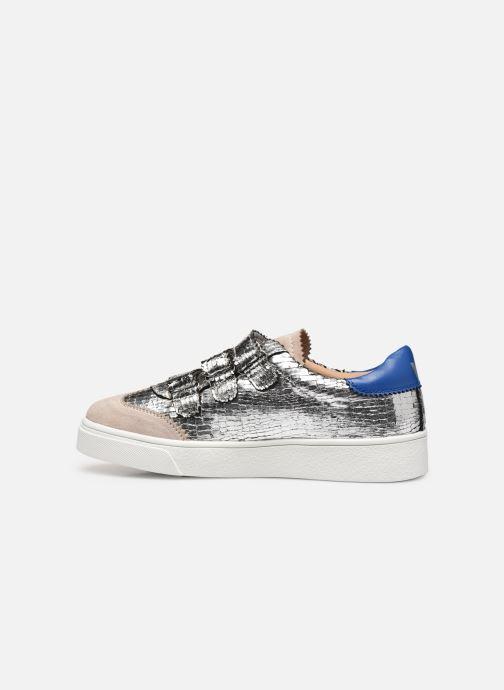 Sneakers Vanessa Wu BK2064 Zilver voorkant