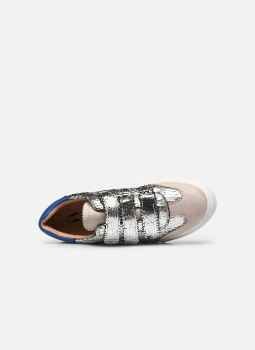 Sneakers Vanessa Wu BK2064 Argento immagine sinistra