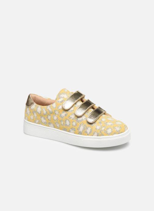 Sneaker Vanessa Wu BK2108 gelb detaillierte ansicht/modell
