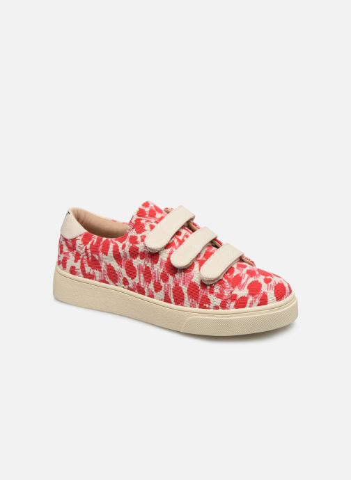 Trainers Vanessa Wu BK2108 Red detailed view/ Pair view