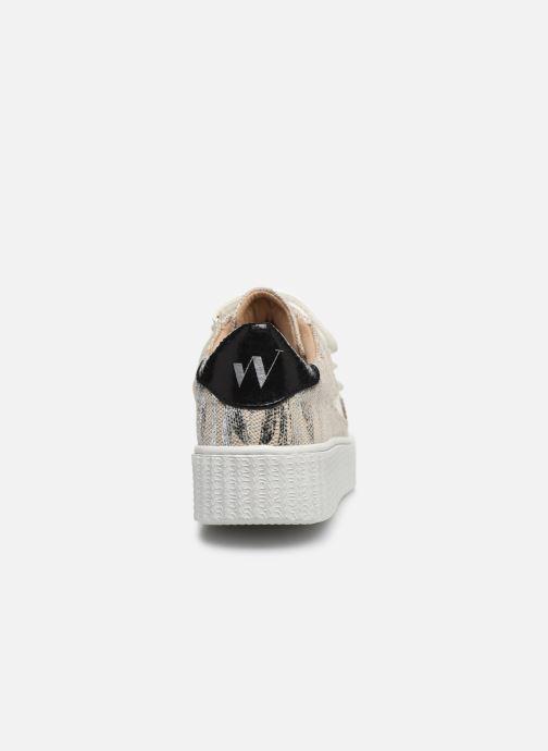 Sneakers Vanessa Wu BK2065 Beige immagine destra