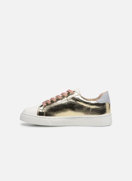 Sneakers Vanessa Wu BK2066 Oro e bronzo immagine frontale