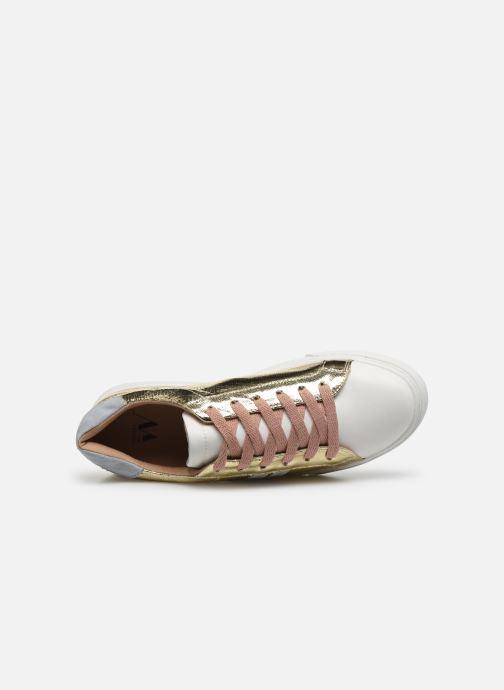 Sneakers Vanessa Wu BK2066 Oro e bronzo immagine sinistra