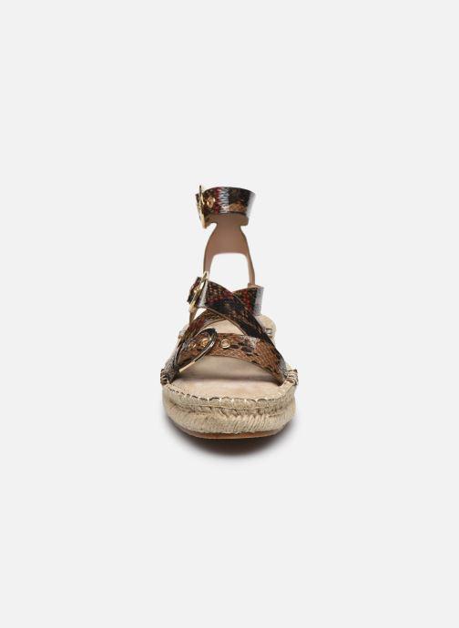 Scarpe di corda Vanessa Wu SD2089 Marrone modello indossato