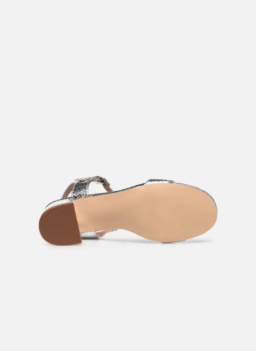 Sandales et nu-pieds Vanessa Wu SD2094 Argent vue haut