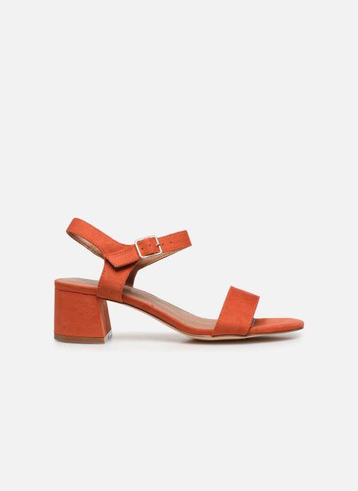Sandales et nu-pieds Vanessa Wu SD2094 Orange vue derrière