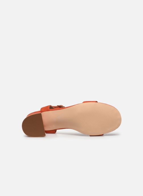 Sandales et nu-pieds Vanessa Wu SD2094 Orange vue haut