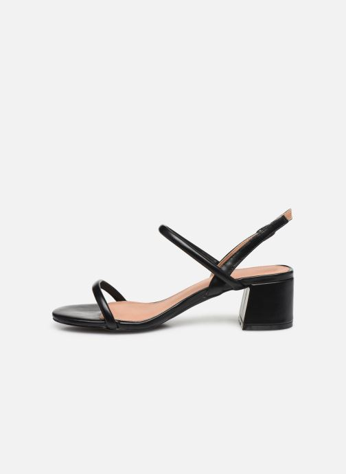 Sandals Vanessa Wu SD2102 Black front view