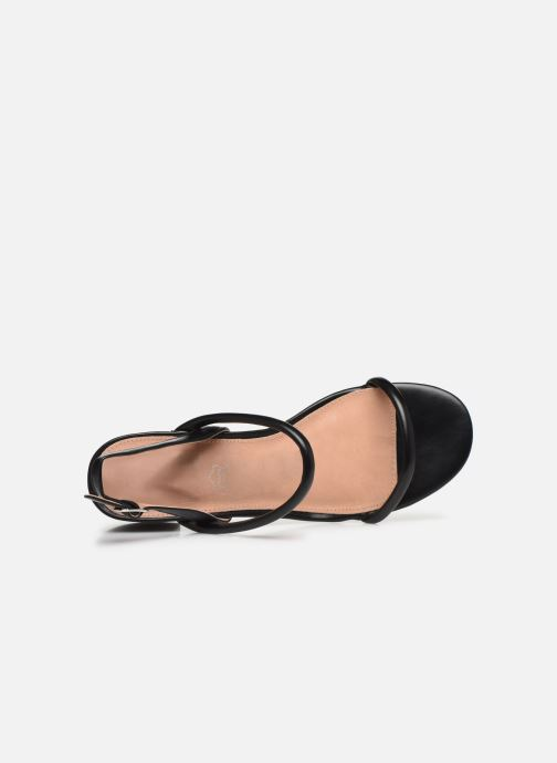 Sandals Vanessa Wu SD2102 Black view from the left
