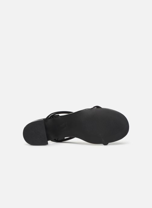 Sandals Vanessa Wu SD2102 Black view from above