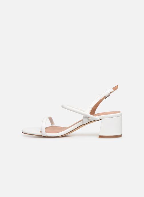 Sandales et nu-pieds Vanessa Wu SD2102 Blanc vue face