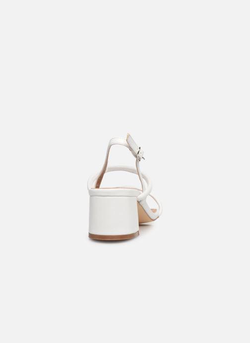Sandales et nu-pieds Vanessa Wu SD2102 Blanc vue droite