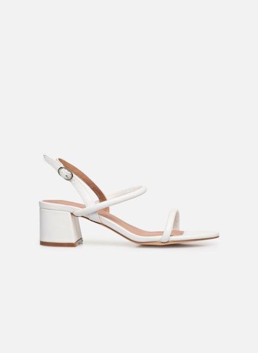 Sandales et nu-pieds Vanessa Wu SD2102 Blanc vue derrière