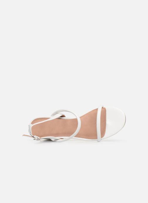 Sandales et nu-pieds Vanessa Wu SD2102 Blanc vue gauche