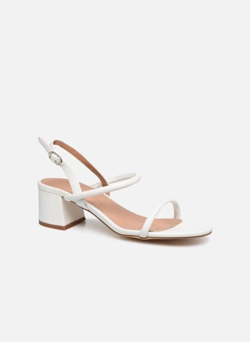 Sandales et nu-pieds Vanessa Wu SD2102 Blanc vue détail/paire