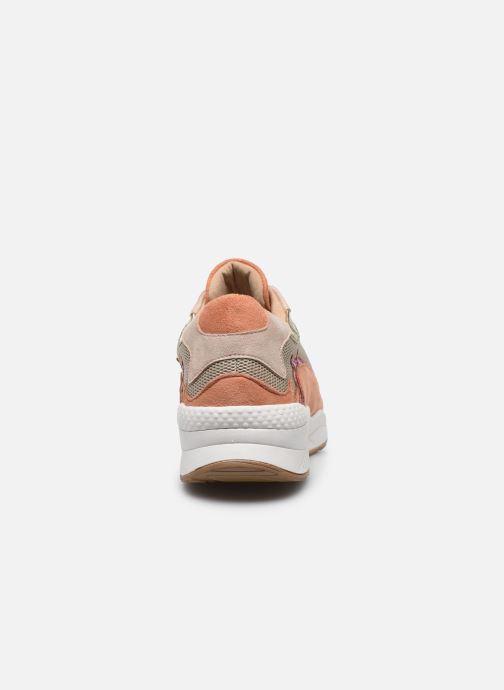 Sneakers Vanessa Wu BK2117 Oro e bronzo immagine destra