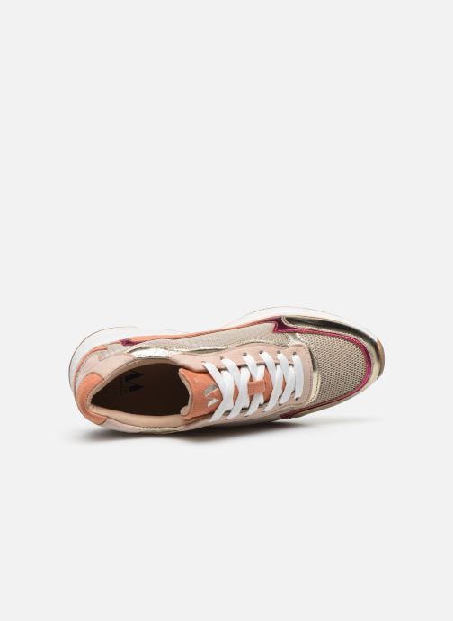 Sneakers Vanessa Wu BK2117 Oro e bronzo immagine sinistra