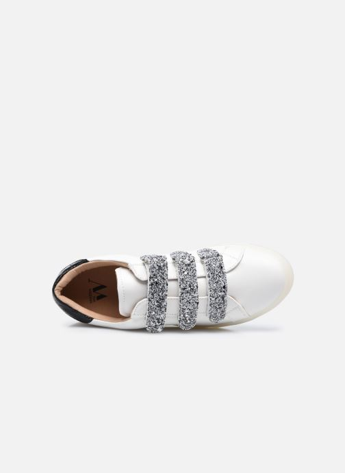 Sneakers Vanessa Wu BK2133-1 Bianco immagine sinistra
