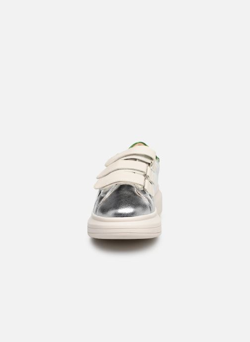 Trainers Vanessa Wu BK2113 Silver model view