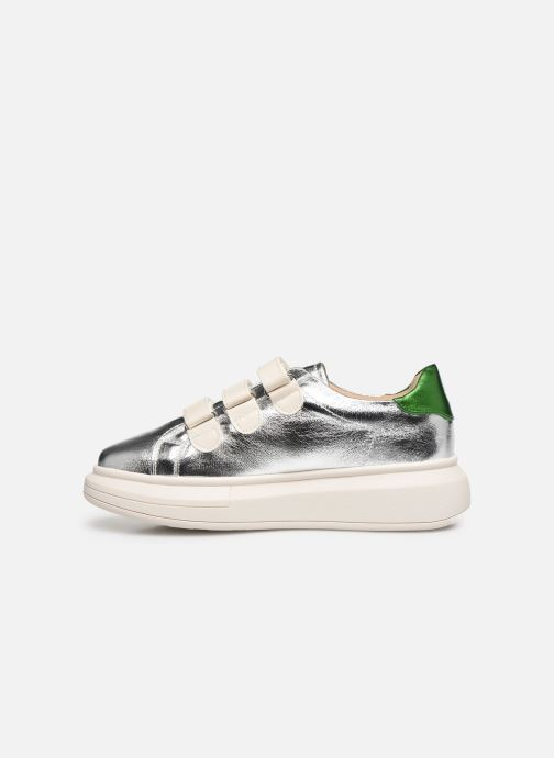 Sneakers Vanessa Wu BK2113 Argento immagine frontale