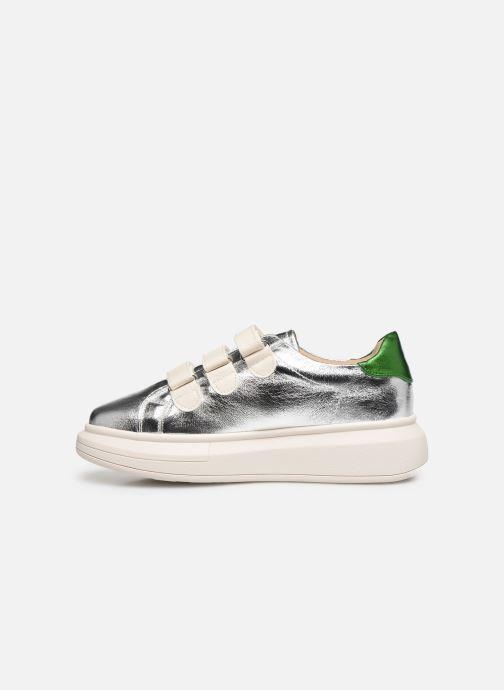 Sneaker Vanessa Wu BK2113 silber ansicht von vorne