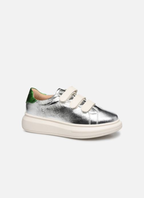 Trainers Vanessa Wu BK2113 Silver detailed view/ Pair view