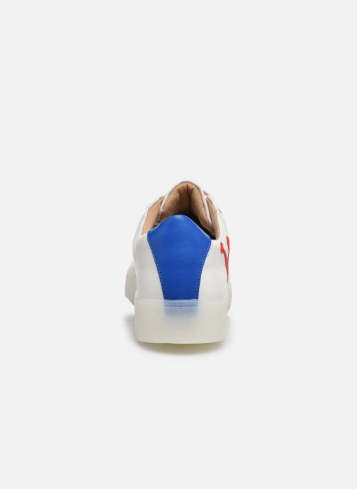 Sneakers Vanessa Wu BK2070 Wit rechts