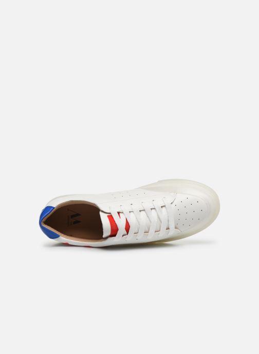 Sneakers Vanessa Wu BK2070 Bianco immagine sinistra