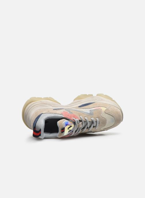Sneakers Vanessa Wu BK2099 Beige immagine sinistra