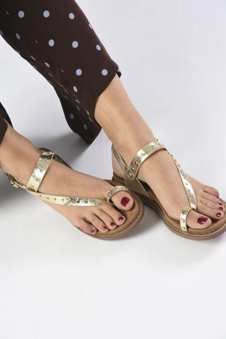 Sandali e scarpe aperte Vanessa Wu SD2139 Oro e bronzo immagine dal basso