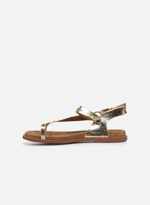 Sandali e scarpe aperte Vanessa Wu SD2139 Oro e bronzo immagine frontale
