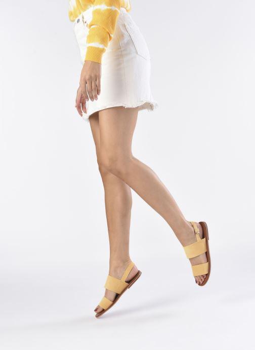 Sandali e scarpe aperte Vanessa Wu SD2127 Giallo immagine dal basso